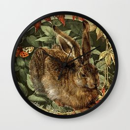 The Old Hare Wall Clock