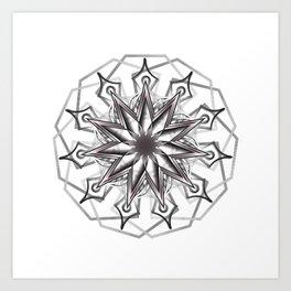 Mandala 0027 Art Print