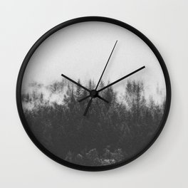 INTO THE WILD III / Black Forest Wall Clock