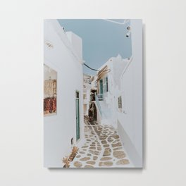 mykonos / greece Metal Print