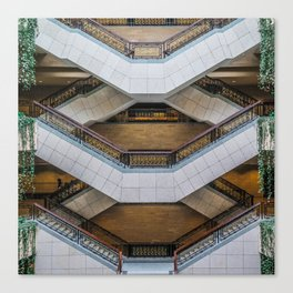 The Symmetry of the Shanghai Museum Canvas Print