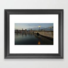 Trogir Twlight  Framed Art Print