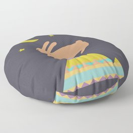 The Mountaineer Floor Pillow