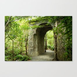 Elf Archway, New Zealand Canvas Print