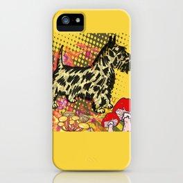 Scottish pop art iPhone Case