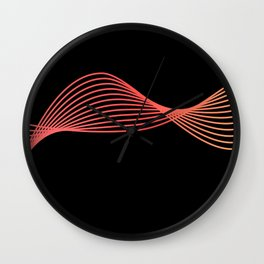 Morganite - Dark Wall Clock