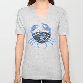 Blue Crab Unisex V-Neck