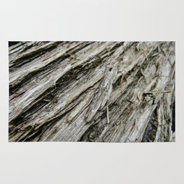 Bark on a Downed Tree Rug