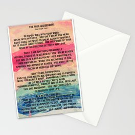 The Four Agreements 11 Stationery Cards