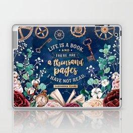 Life is a book Laptop & iPad Skin