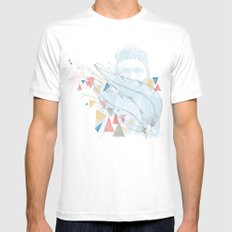 Native White Mens Fitted Tee MEDIUM