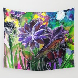 Spring Garden In Bloom Wall Tapestry