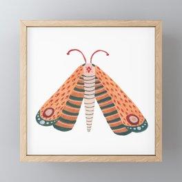 Watercolor Butterfly Painting / Day 36 Wall Art / Butterfly Art Framed Mini Art Print