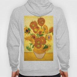 Sunflowers by Van Gogh Hoody