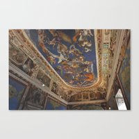 baroque Canvas Prints featuring Baroque by Lorenzo Bini
