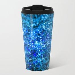 Water Color - Dark Blue - Navy Travel Mug