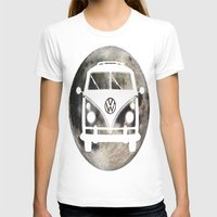 volkswagon T-shirts featuring Moon Wagon by Isaak_Rodriguez