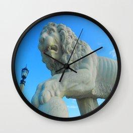 Bridge of Lions Wall Clock