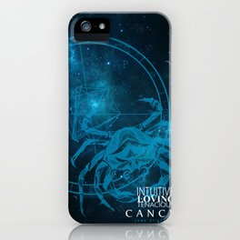 Cancer- Intuitive, loving and Tenacious iPhone Case