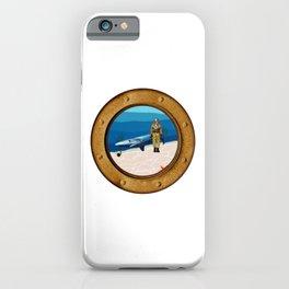 Walking The Shark iPhone Case