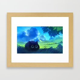 Summer is like a pancake Framed Art Print