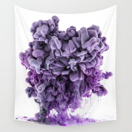 Purple Monster Wall Tapestry