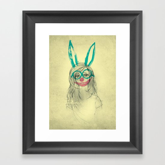 UNPRETTY Framed Art Print