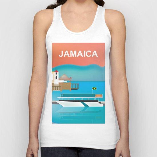 Jamaica - Skyline lllustration by Loose Petals by loosepetals