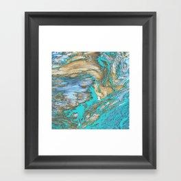 Woody Water Framed Art Print