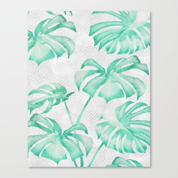 city leaf Canvas Print