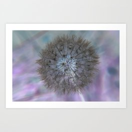 Fluid Nature - Magical Wishes Art Print