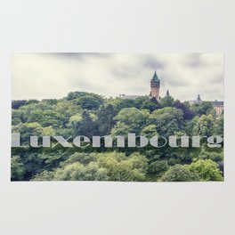 Luxembourg panorama Rug