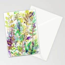 Leaves texture 02 Stationery Cards