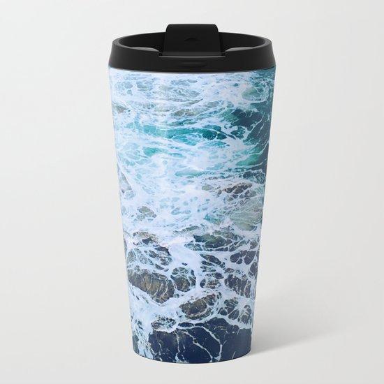 Wonderful Waves Metal Travel Mug