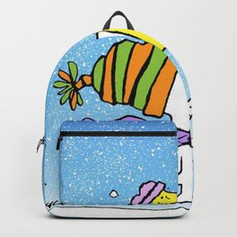 Chrsitmas Snoopy cold weather Xmas Backpack