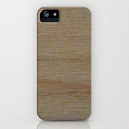 Maple Wood Grain Texture Study iPhone Case
