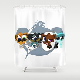 BearBox Groupie Shower Curtain