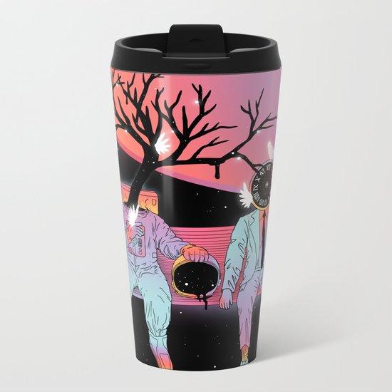 Coexistentiality (Sustaining Life) Metal Travel Mug
