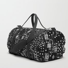 Suits You BLACK Duffle Bag