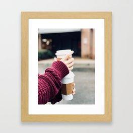 Lattes Framed Art Print