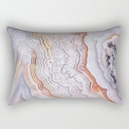 Crazy lace agate Rectangular Pillow