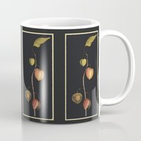 chinese Mugs featuring Chinese Lantern by anipani
