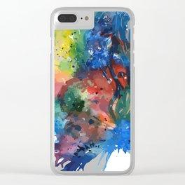 Half Mina Clear iPhone Case