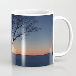 Winter Sundown Coffee Mug