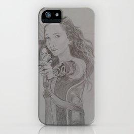 Katniss Everdeen iPhone Case