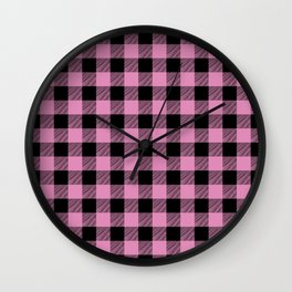 Lumberjill Wall Clock