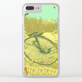 LAZY DAY RIDE Clear iPhone Case