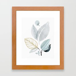 Sage and Such - Abstract Watercolor Botanical Framed Art Print
