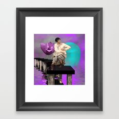 fashion doll's place Framed Art Print