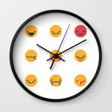 Emojis: All Wall Clock